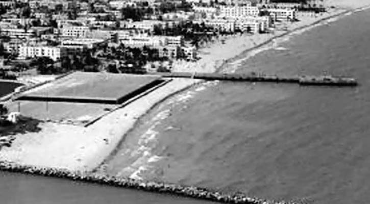 Mid 1960s - closer view of the South Beach that we remember, between the pier and the jetty
