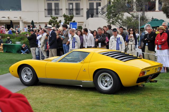 1971 Lamborghini Miura P400 Sv Bertone Prototype St Photo A G