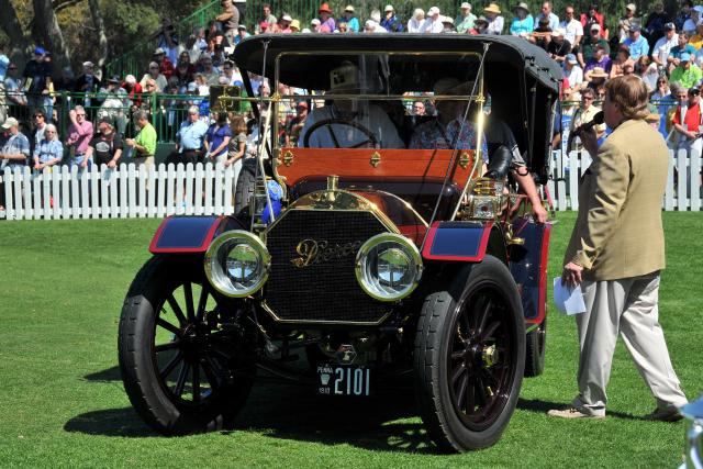 1910 Pierce-Arrow 48SS 7 Passenger Touring, Whitman & Lynn Ball, Exton, PA, Best in Class, Horseless Carriage 40+ HP (7879)