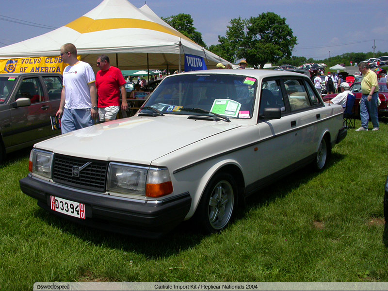 Volvo 240 Trim - The Same Chrome Trim And The European Flat Hood Grille To Match The Grille Needs To Be Pushed Out At The Top A Little To Match The Hood - Volvo 240 Trim