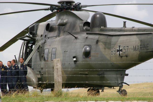 Deutscher Marine Hubschrauber