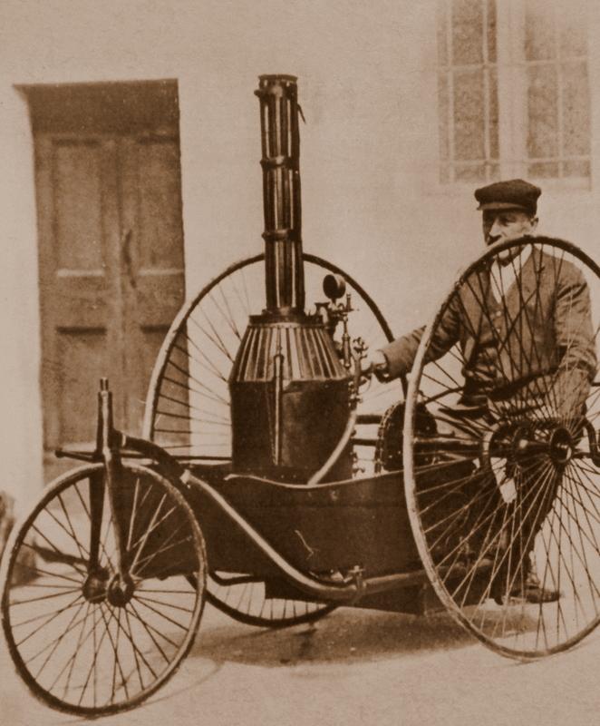 Tricycle Pecori - Italy 1891