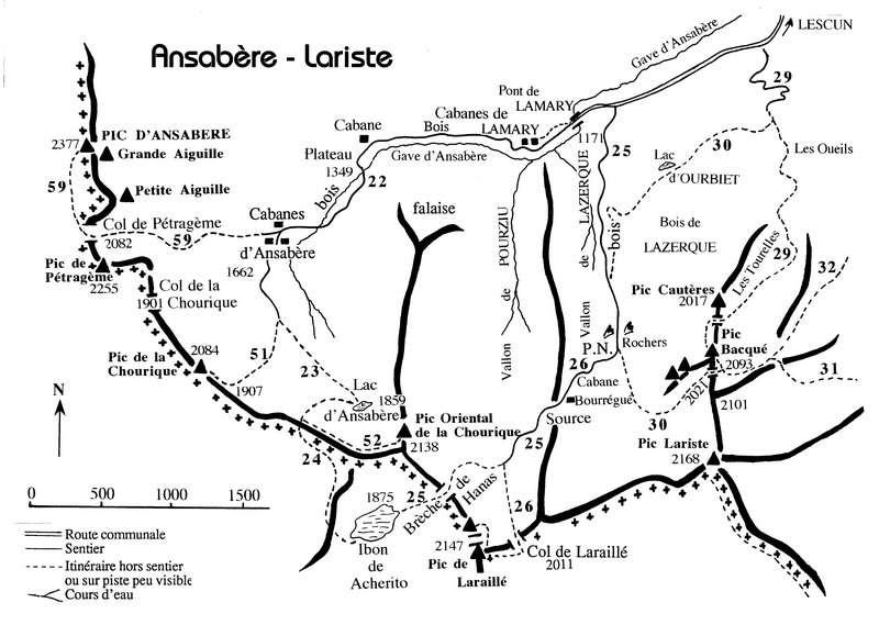 012-Ansabère-Lariste-It. 22/. 23/. 24/. 25/. 26/. 51/. 52/.