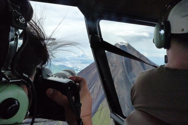 Jojie Alcantara shoots Mount Mayon up close