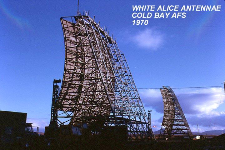 White Alice Antennae