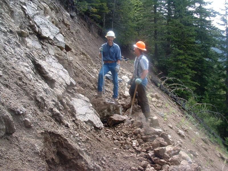 Rick Kosko & Mark Reiss slide area