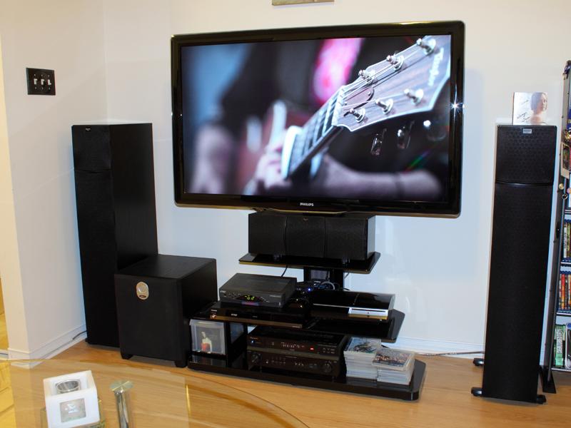 Tv Stand That Accommodates Center Speaker Avs Forum
