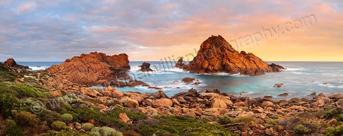 Sunrise at Sugarloaf Rock