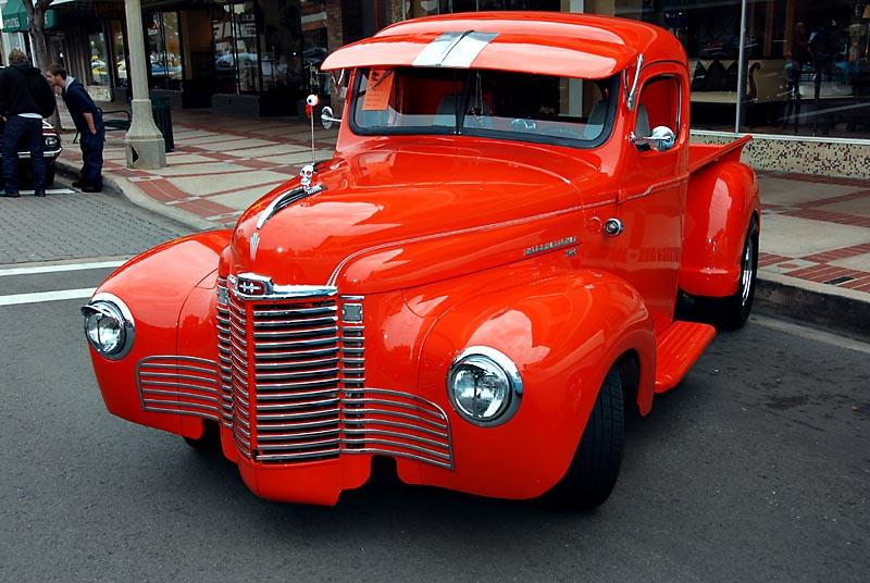 1949 International Pickup truck photo - Ken Leonard photos