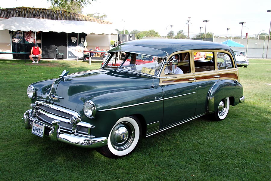 daeb45c78 1950 Chevrolet deluxe Styline Station Wagon photo - Ken Leonard ...