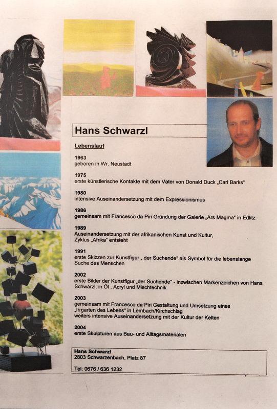 Lebenslauf von Hans Schwarzl