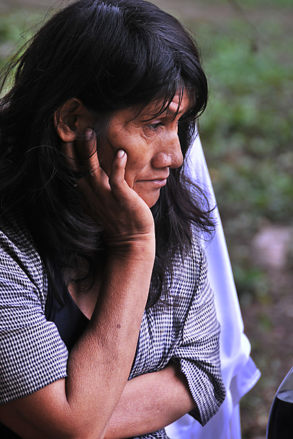 Yuqui Woman - Bia Recuate, a Yuqui village on the Rio Chimore