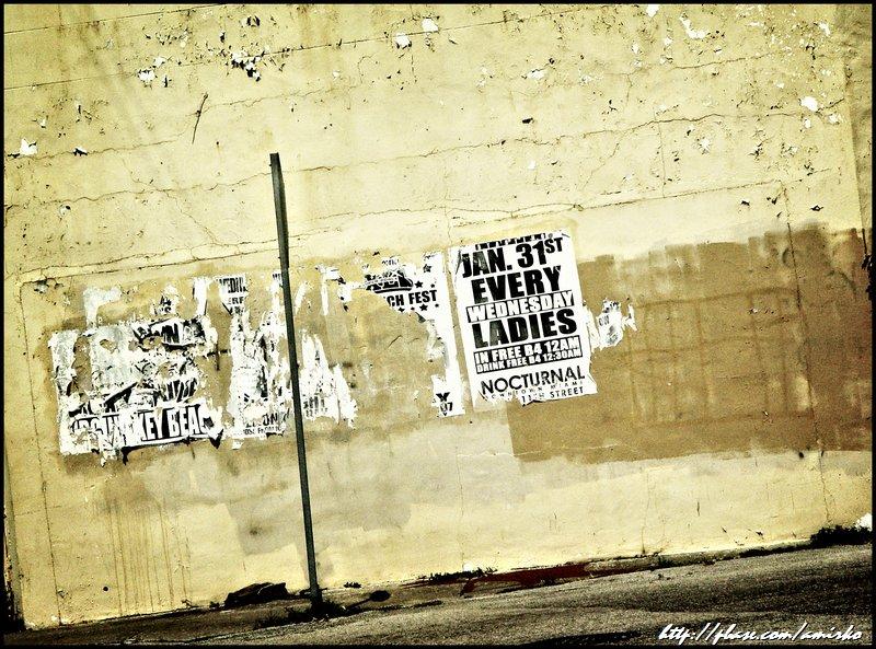 Street ads on NW 79th Street