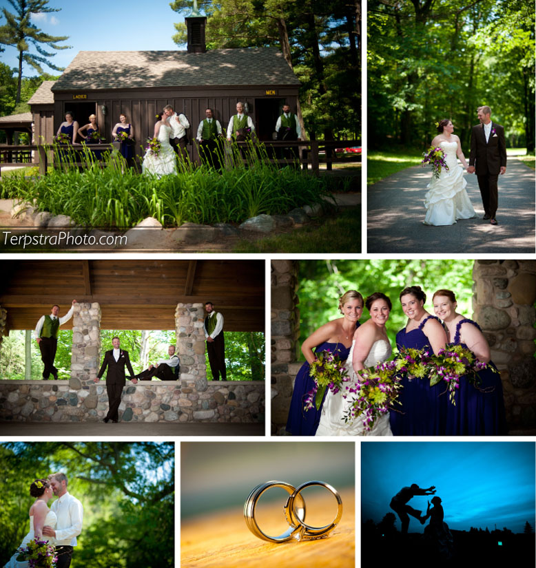 Rockford Michigan Wedding Photographer At Townsend Park