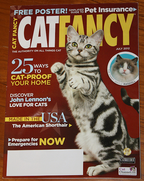 Kelloggs Empire on Cat Fancy cover