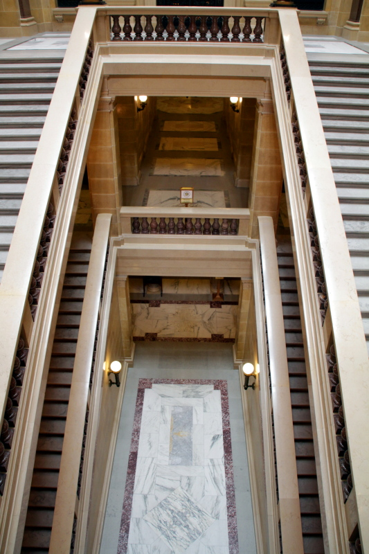 Steps, State Capitol, Madison