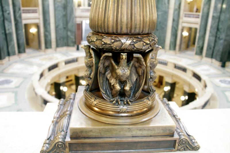 Eagle, State Capitol, Madison