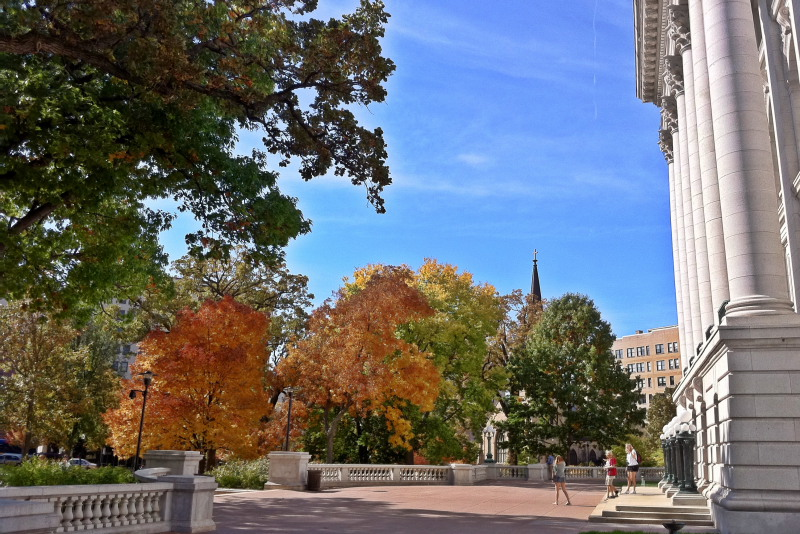 Fall, State Capitol, Madison