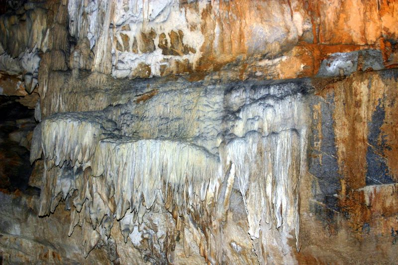 Stalactites, Penns Caves, PA