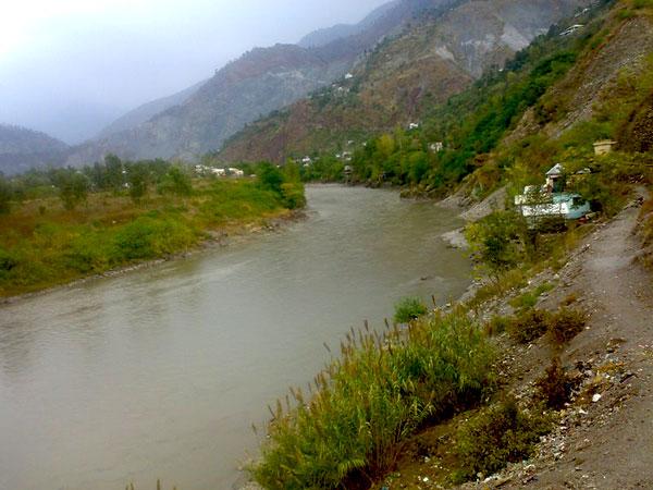 Near Muzaffarabad