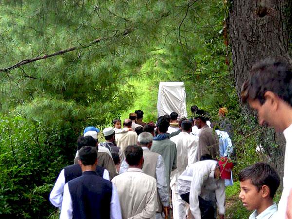 Baraat near Sudhan Gali