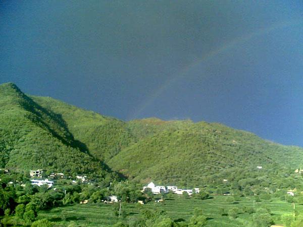 Rainbow in Samror