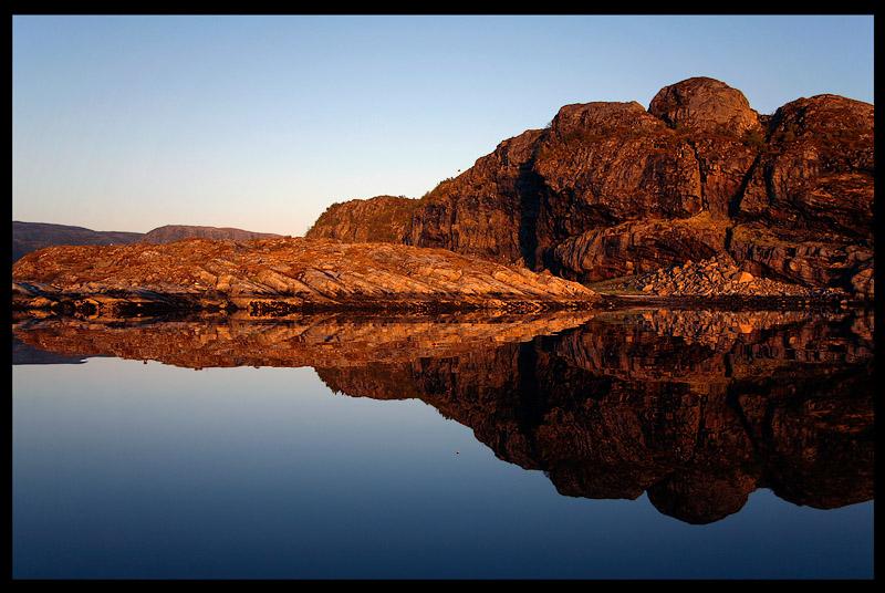 Calm evening at Flatanger