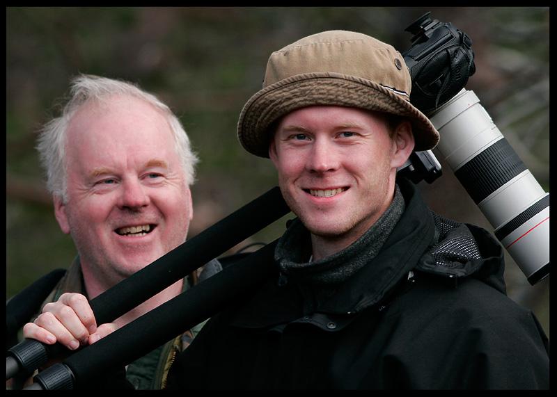 Happy Swedish photographers - Karl Gunnar & Pontus Gustavsson