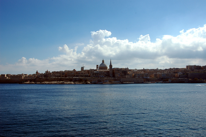 Valletta from the ferry