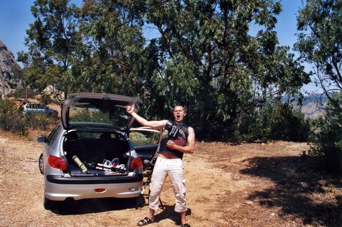 Kafferseglare klar!! Sierra de la plata Juni -05