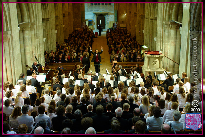 Canford School Orchestra at Christchurch Priory