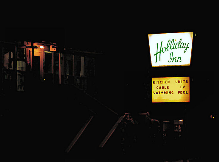 The Holliday Inn.  Two L s.