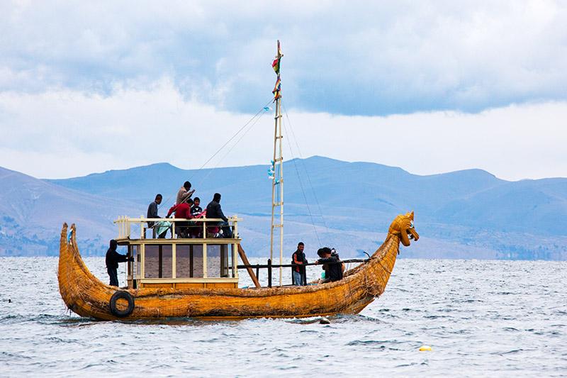 Reed-Boat (Mock-up)