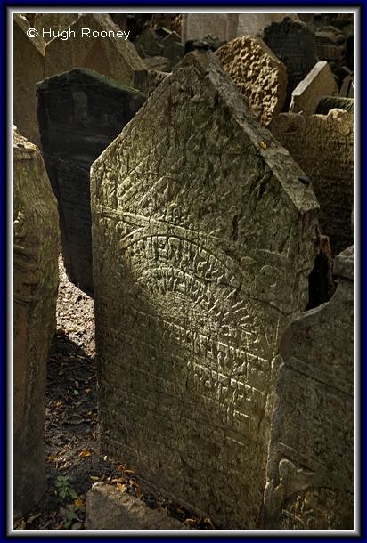 Czech Repulic - Prague - Old Jewish Cemetery.