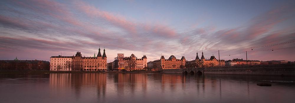 Copenhagen Finger Clouds at sunset
