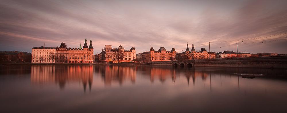 Copenhagen After Dark Cloudscape