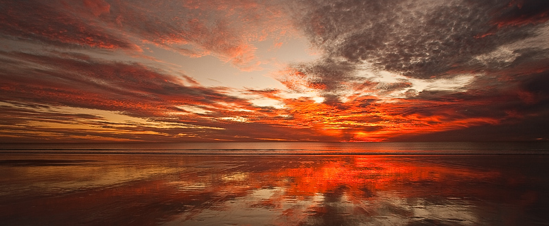 Magic hour at Cable Beach