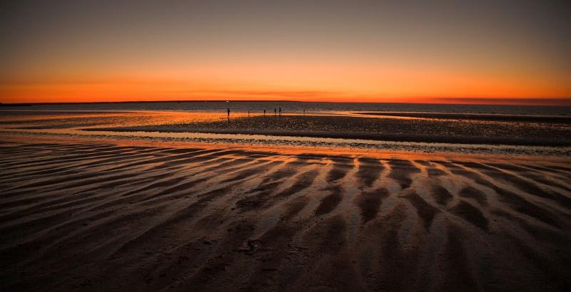 Dusk at Mindil Beach, Darwin