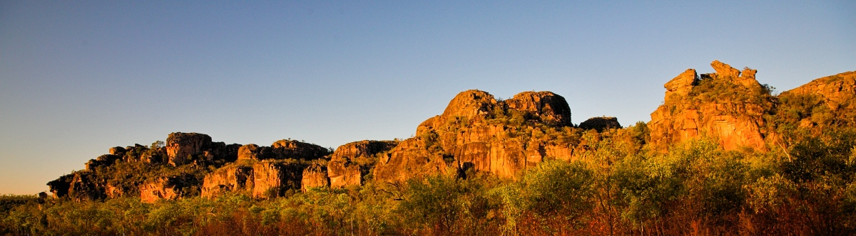 Kakadu Escarpment at sunset