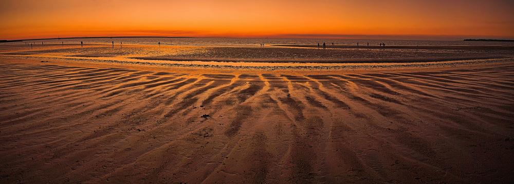 Mindil Beach at Dusk Panorama