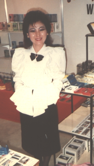 Vickie worked at CETRA = TWTIC Giftionery Fair