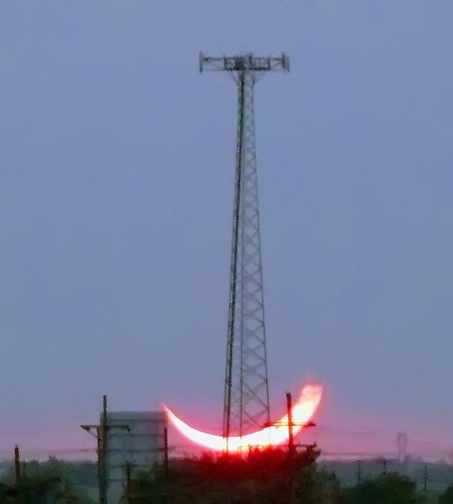 Eclipse Sunset 2012