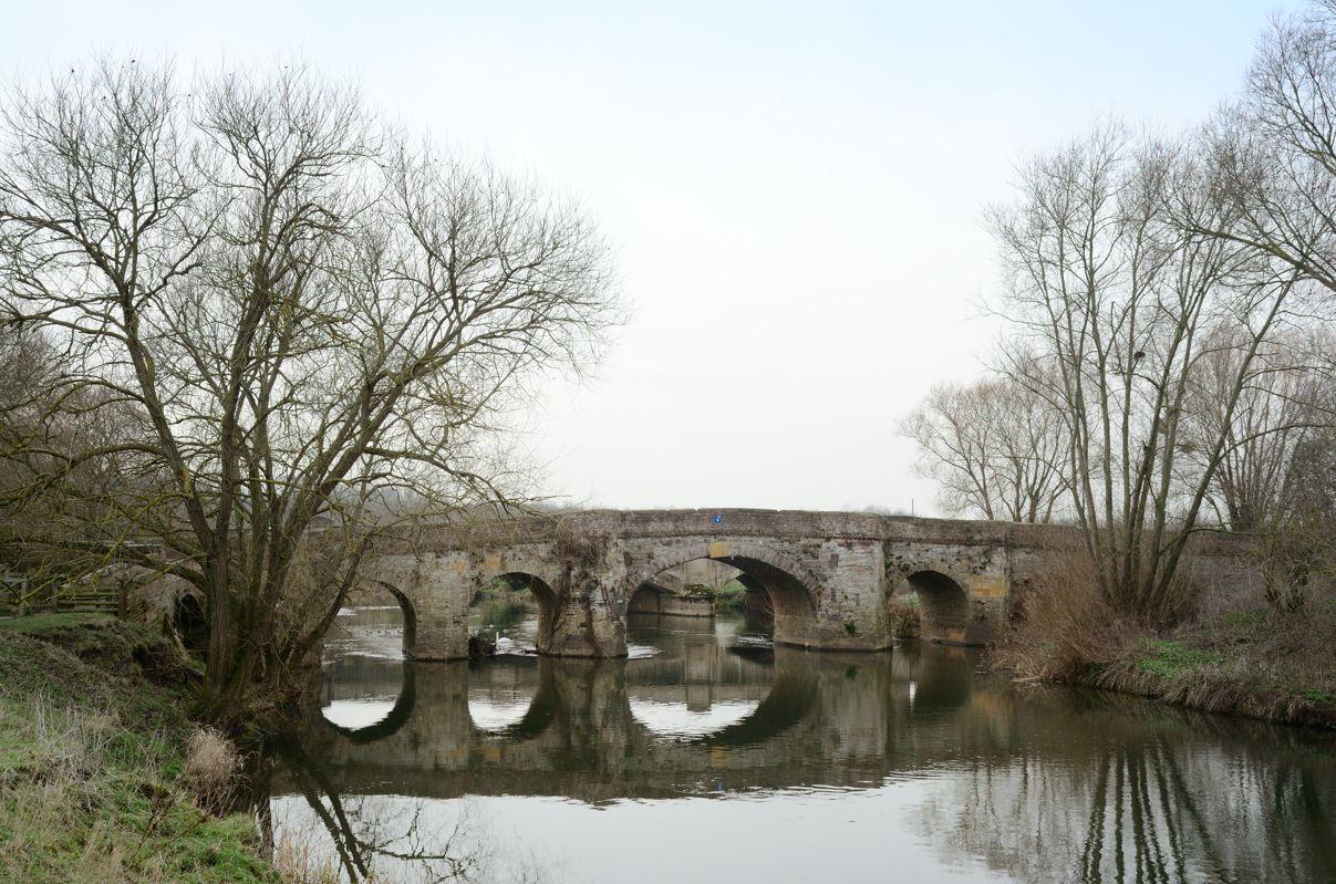 Old bridge on Evesham road