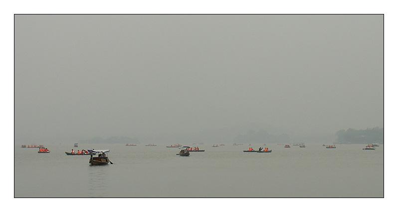 West Lake in Hangzhou - most beautiful lake in China