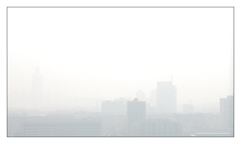 Smog in Hangzhou - paradise on earth