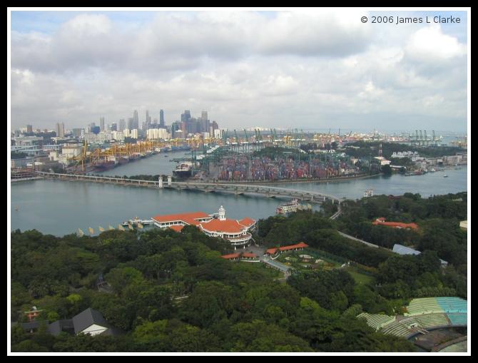 Sentosa, Container Port and CBD 2
