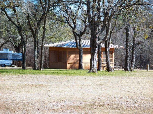 Screen Shelters at lake Whitney.jpg