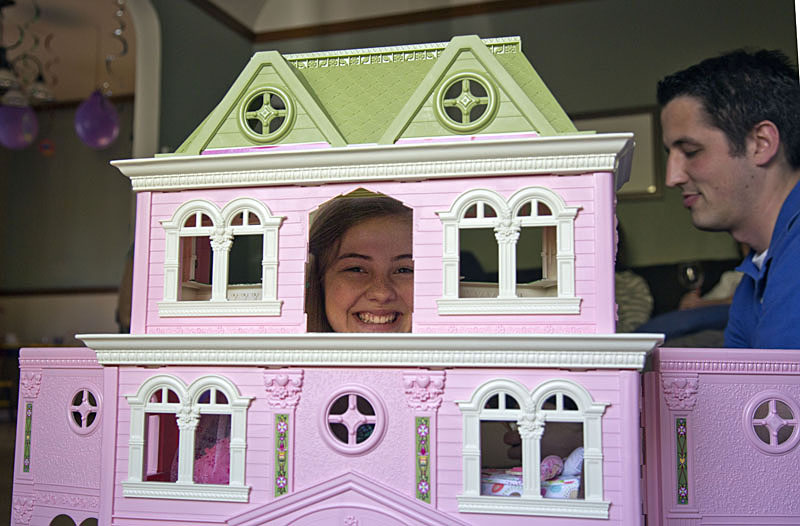 the new doll house