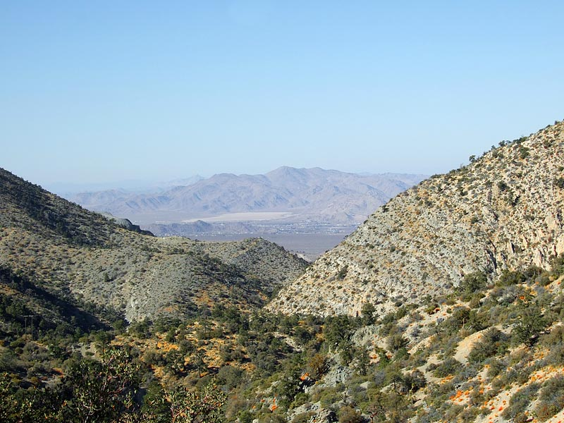 View From San Bernardino Mountains