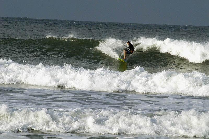 Surfer at Coolum